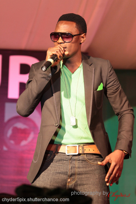 photoblog image SoundSultan @ The Future Award 2011 stage