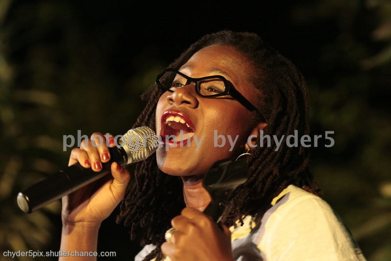 photoblog image Asa @ the Green Concert