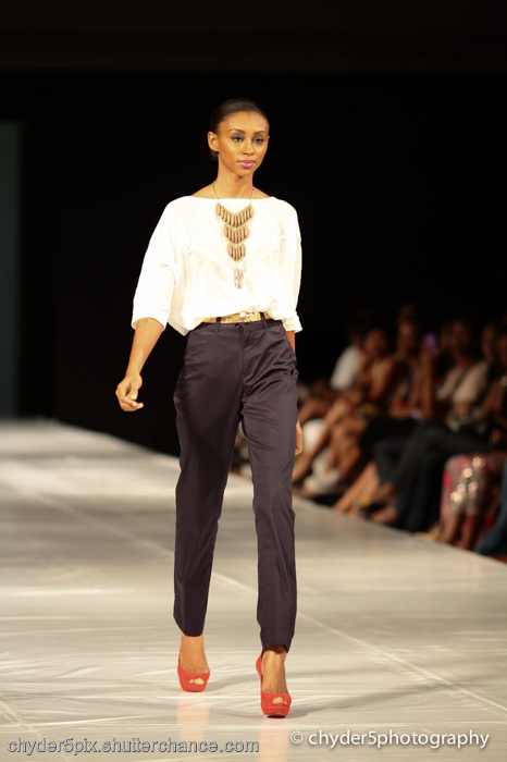 photoblog image MTN Lagos Fashion & Design Week 2011: GREY