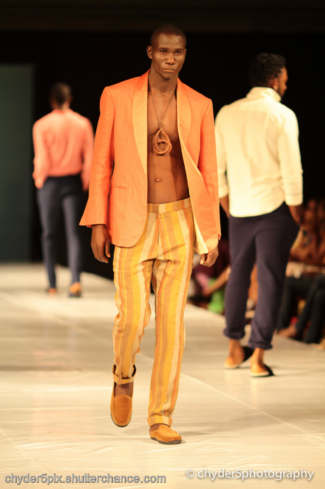 photoblog image MTN Lagos Fashion & Design week 2011: Kelechi Odu